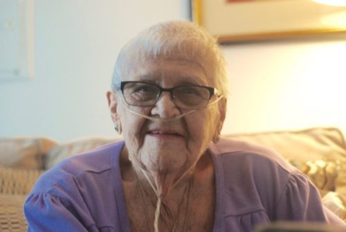 SHIRLEY AT 90